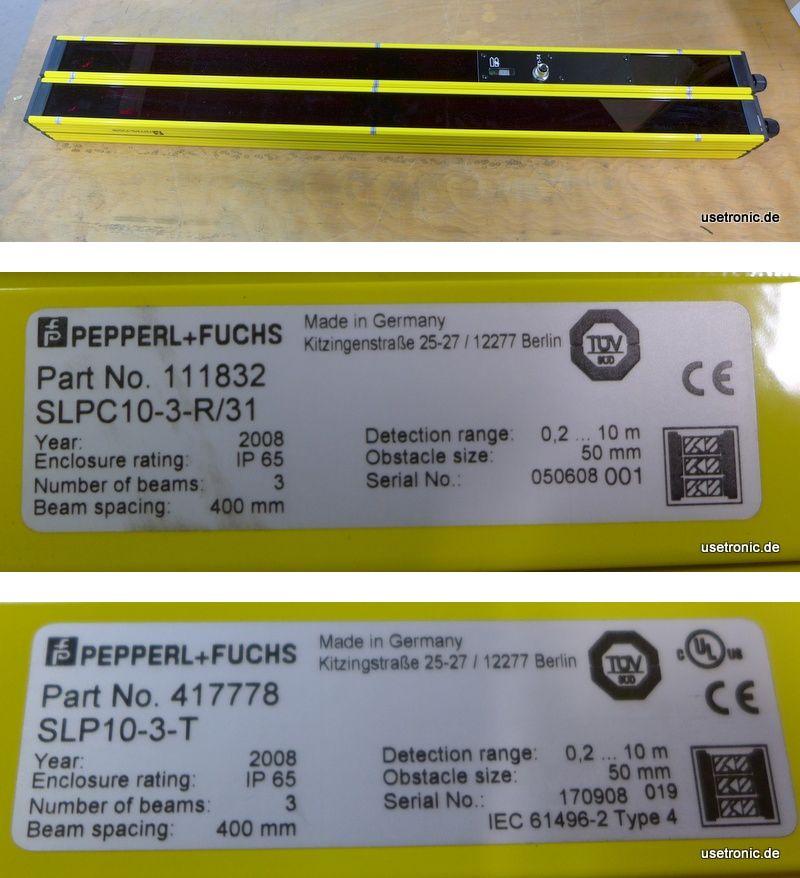 Pepperl Fuchs SLPC10-3-R/31 SLP10-3-T