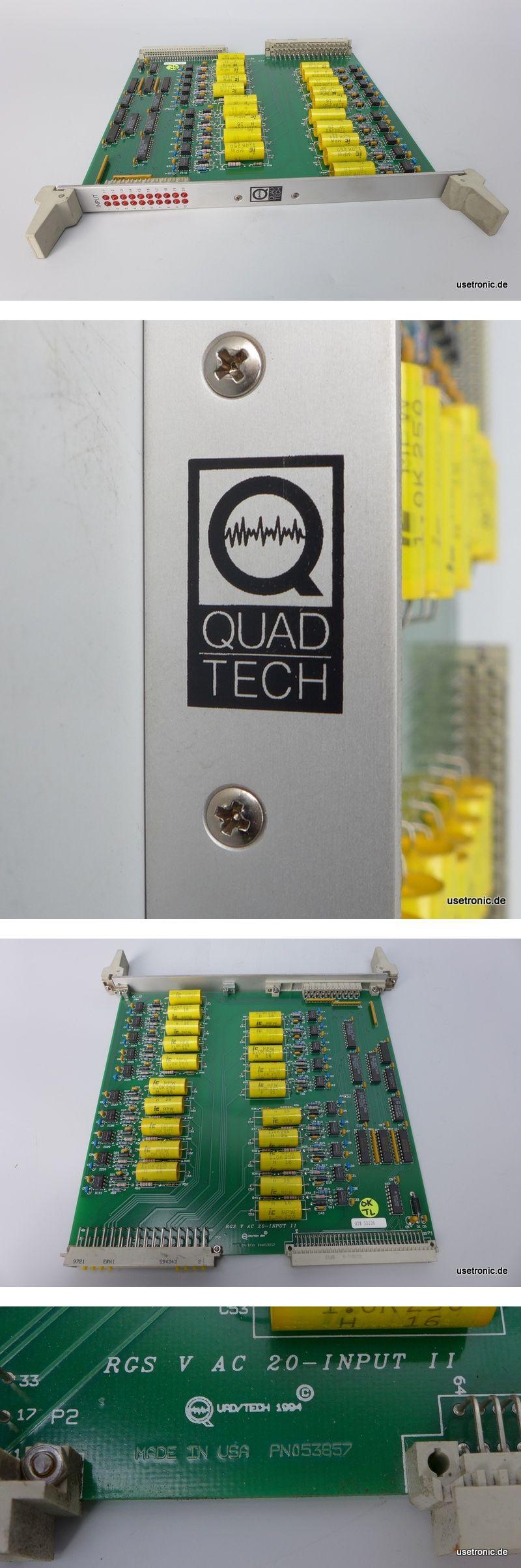 Quadtech RGS V AC 20-input PN 053857