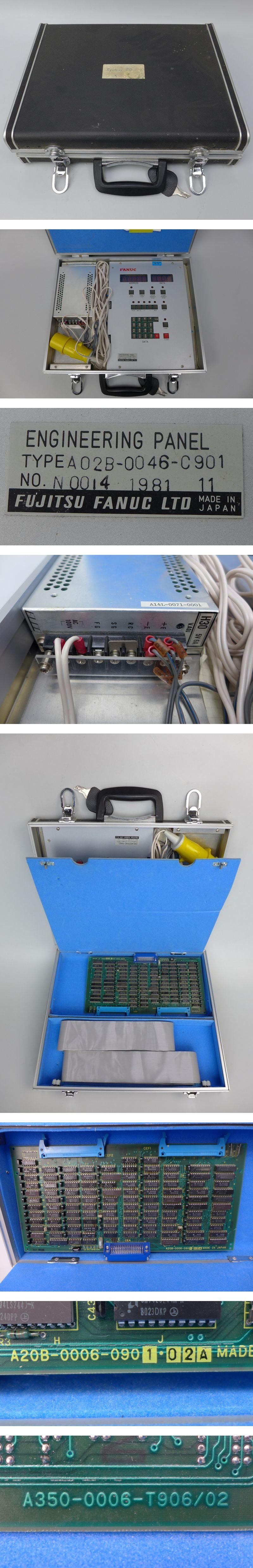 Fanuc Engineering Panel A02B-0046-C901 No N0014 1981 11