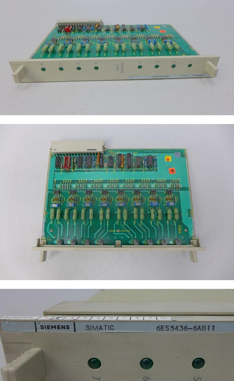 Siemens Simatic 6ES5 436-6AB11 6ES5436-6AB11