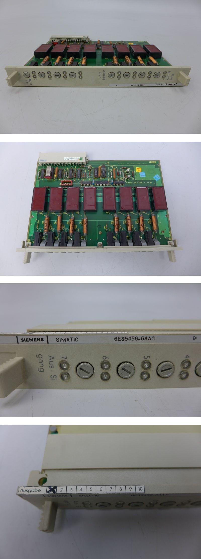 Siemens Simatic 6ES5 456-6AA11 6ES5456-6AA11