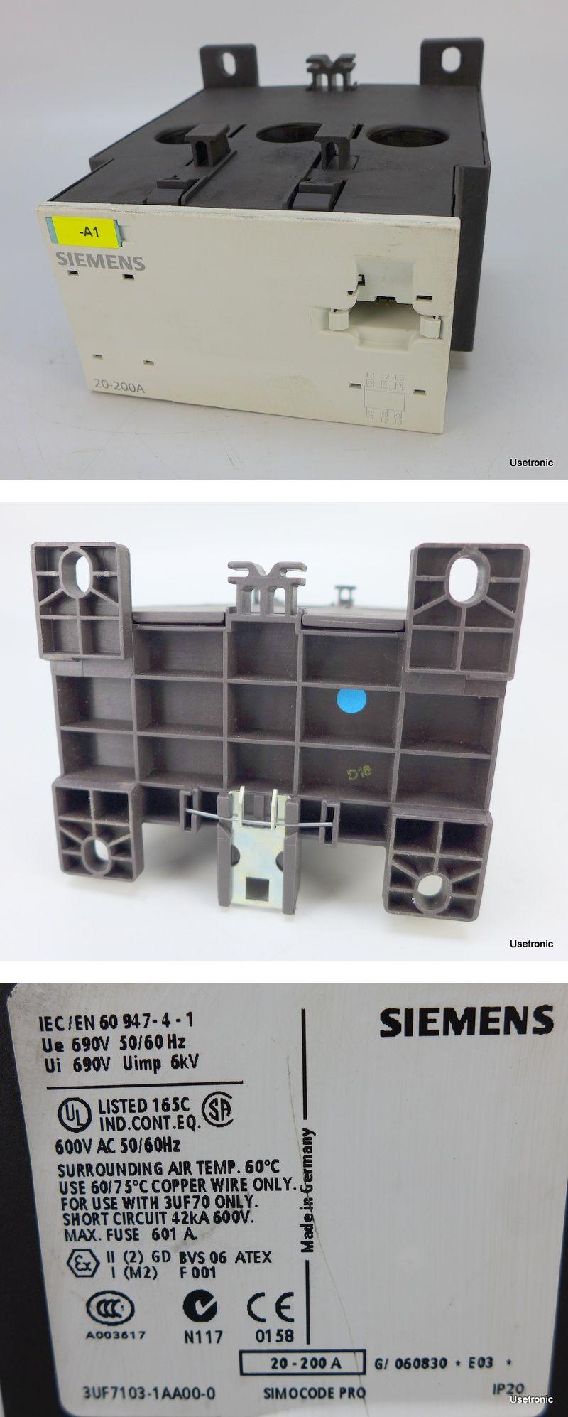 Siemens Stromerfassungsmodul 3UF7103-1AA00-0