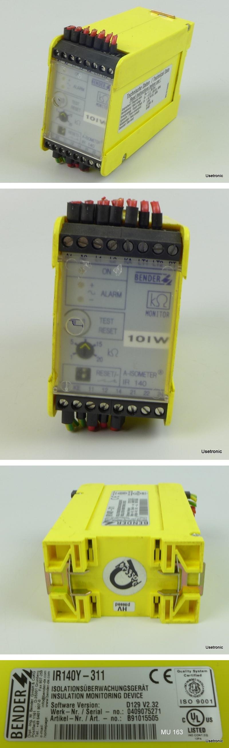 Bender A-Isometer IR 140 IR140Y-311