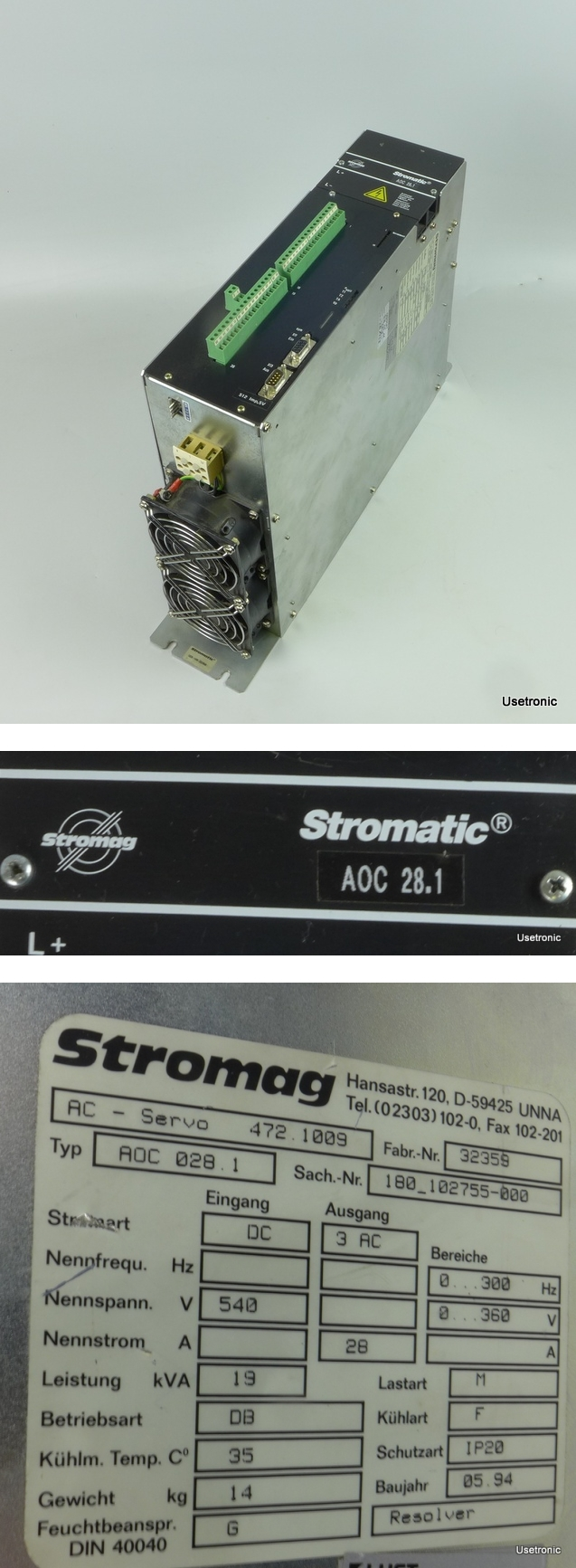 Stromag AOC 028.1