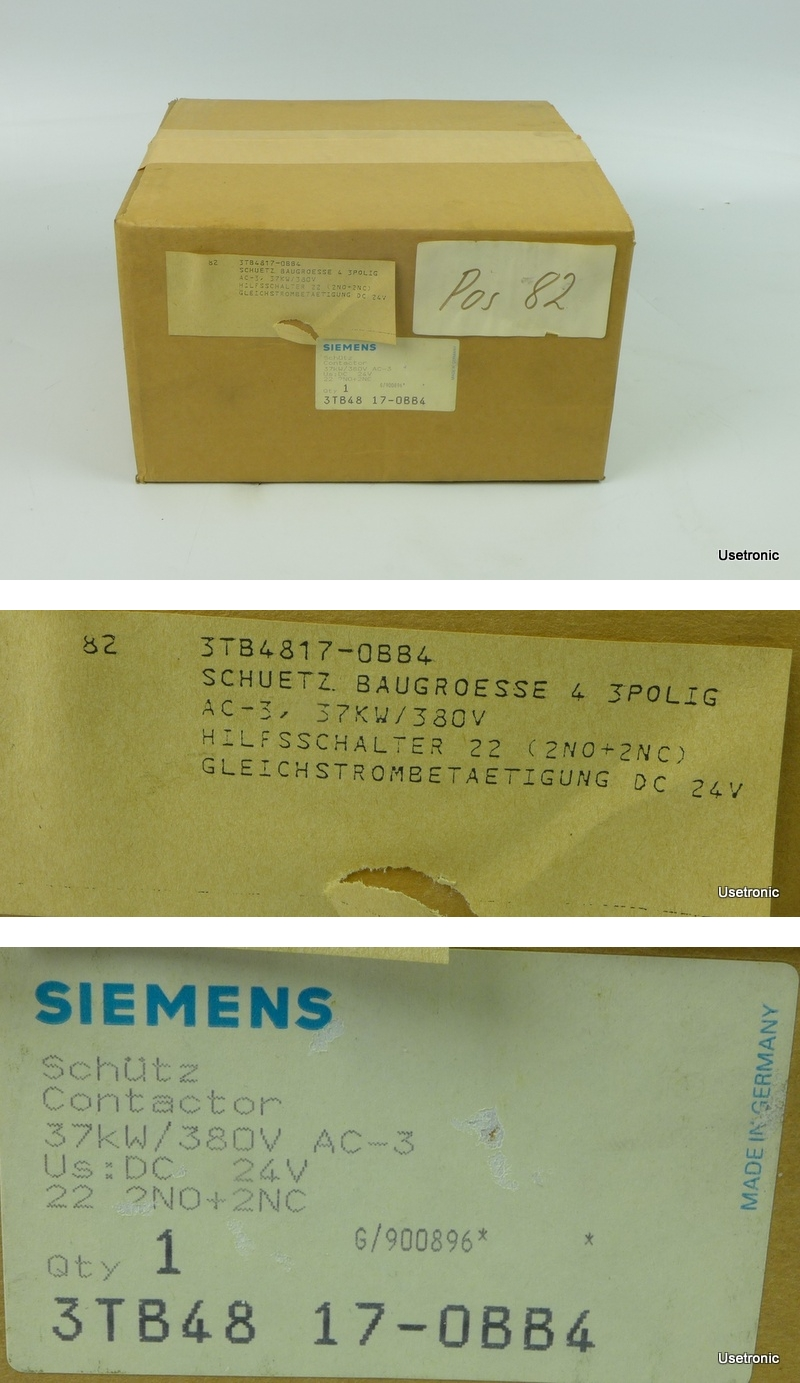 Siemens Schütz 3TB4817-0BB4