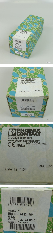 Phoenix Contact IBS RL 24 DI16/8-LK 2724850