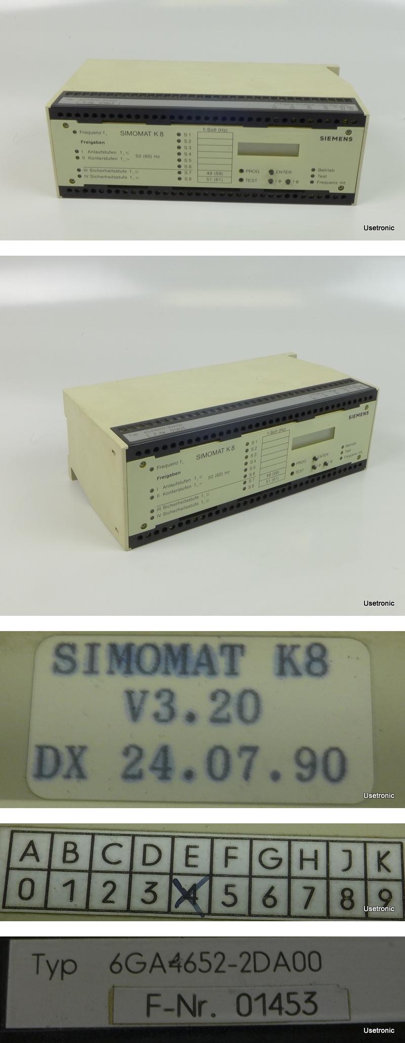 Siemens Simomat K8 6GA4652-2DA00