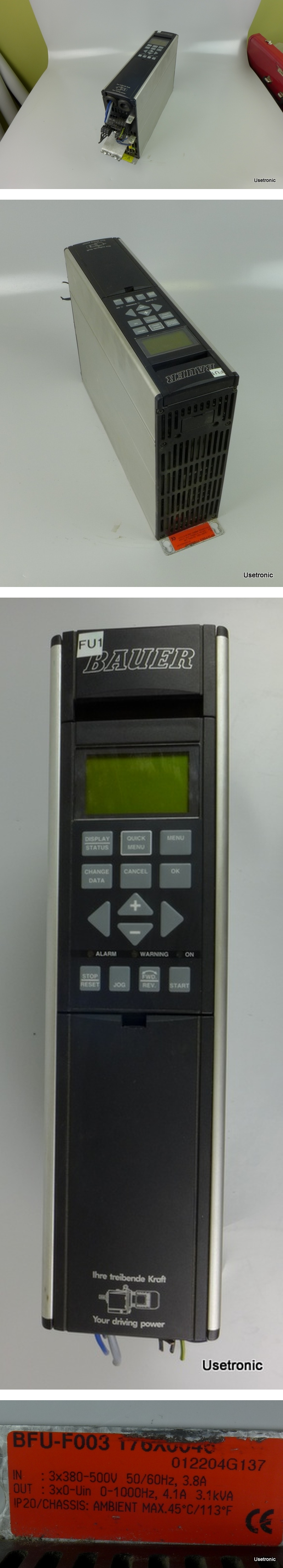 Bauer BFU F003