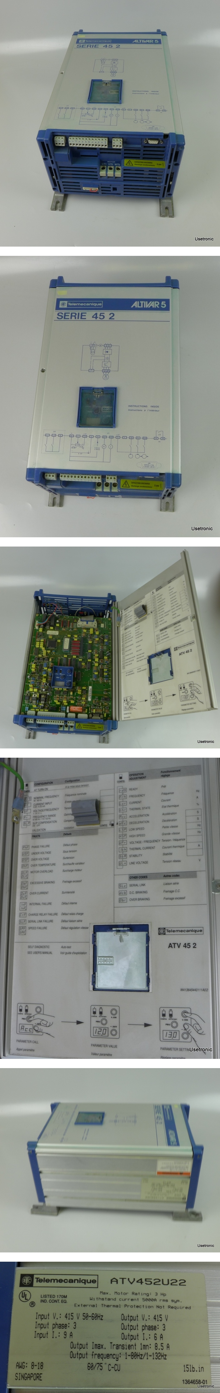 Telemecanique ATV452U22