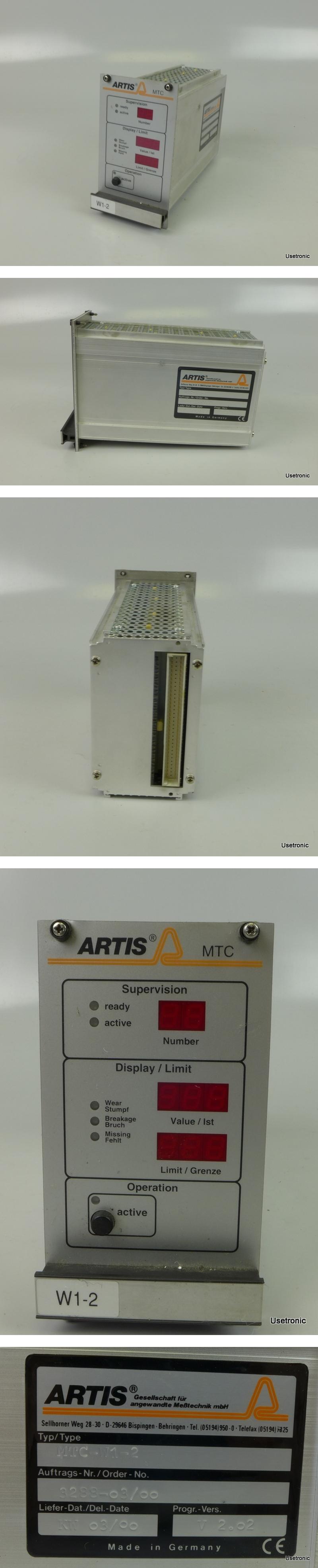 Artis MTC-W1-2