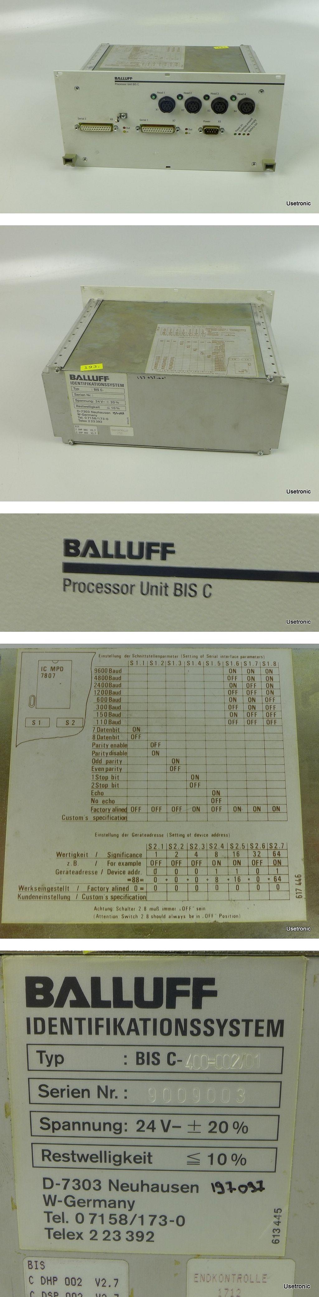 Balluff Unit BIS C 400