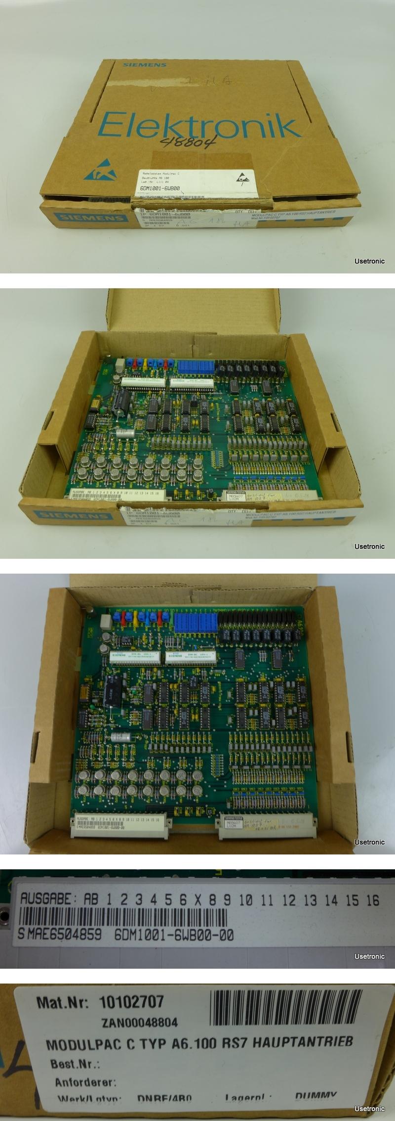 Siemens 6DM1001-6WB00-00
