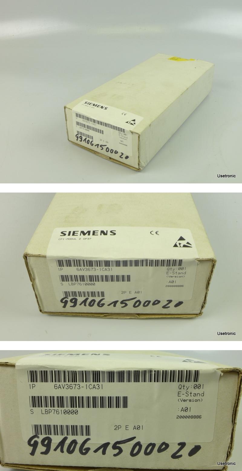 Siemens 6AV3673-1CA31