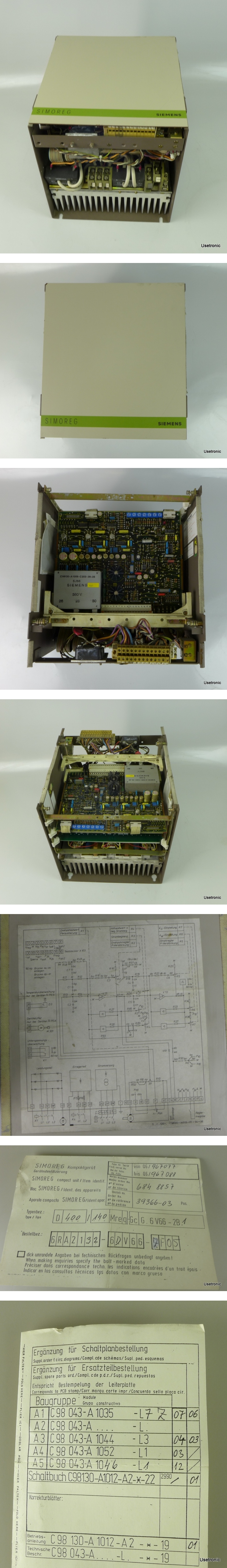Siemens 6RA2132-6DV66