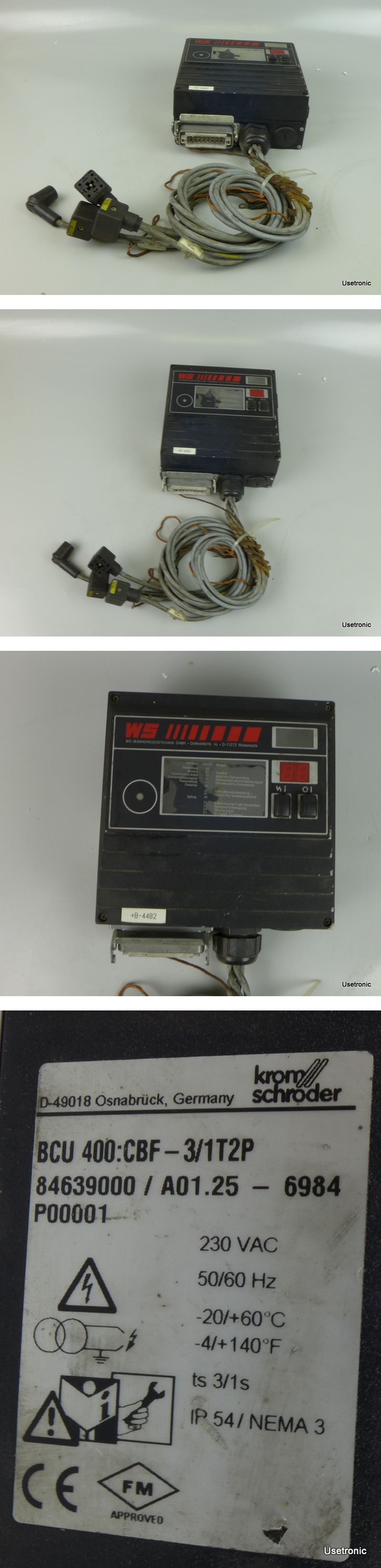 Kromschröder BCU 400 CBF-3/1T2P