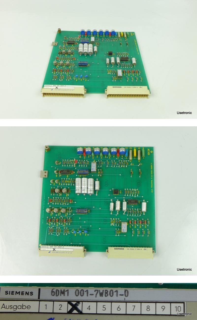 Siemens 6DM1001 7WB01 0