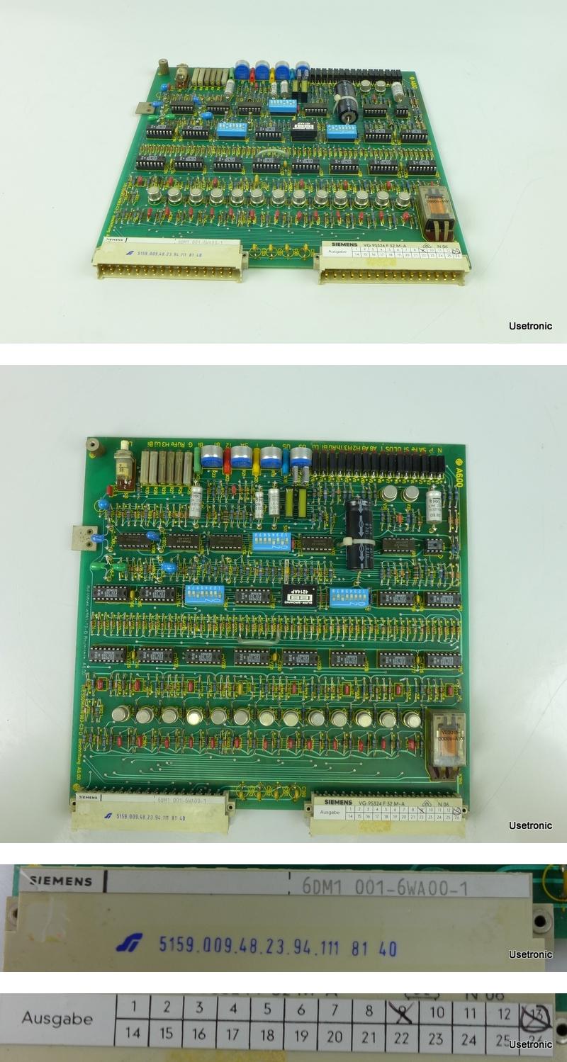 Siemens 6DM1001 6WA00 1