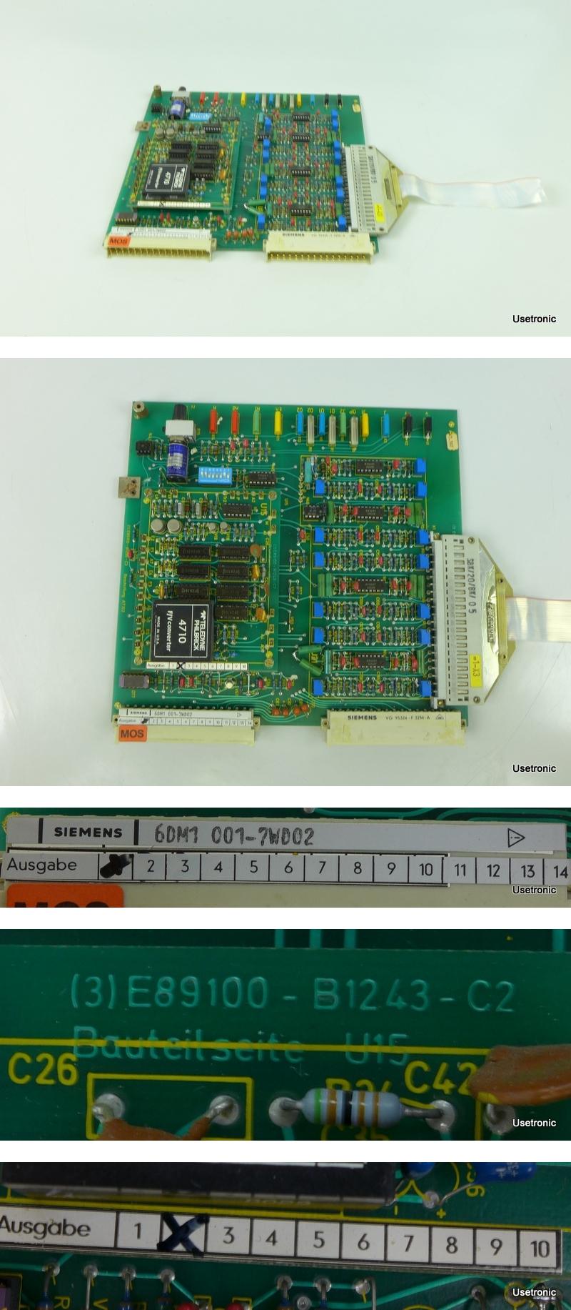 Siemens 6DM1001 7WD02