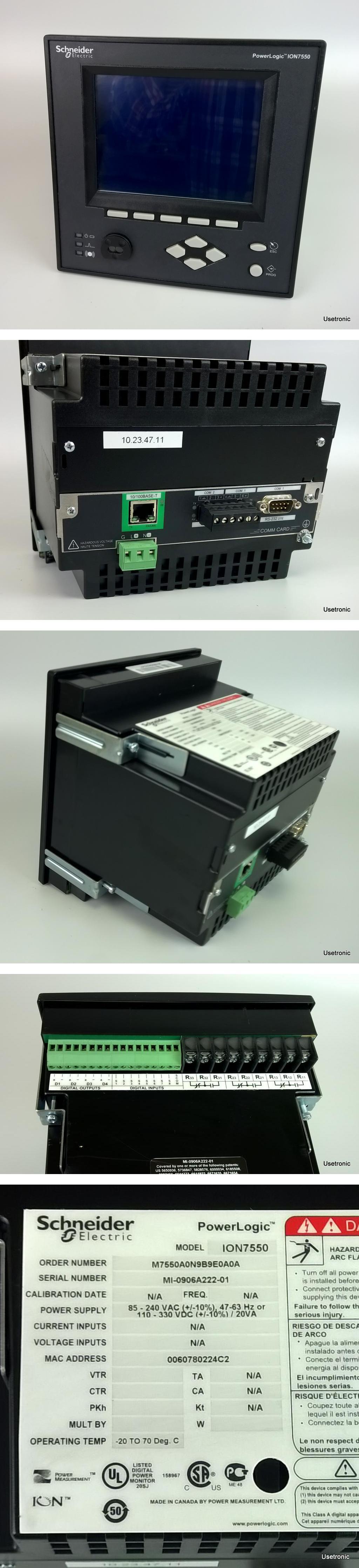 Schneider Power Logic ION7550