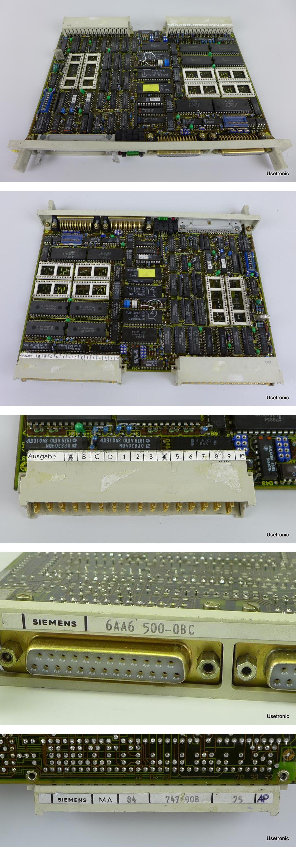 Siemens Sicomp MMC 6AA6 500-0BC