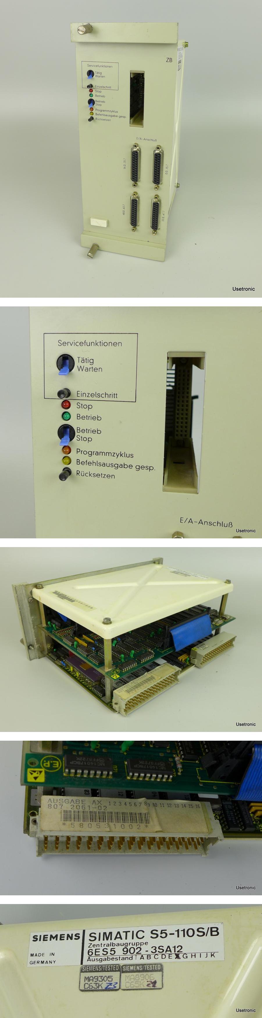 Siemens S5-110S/B 6ES5902-3SA12