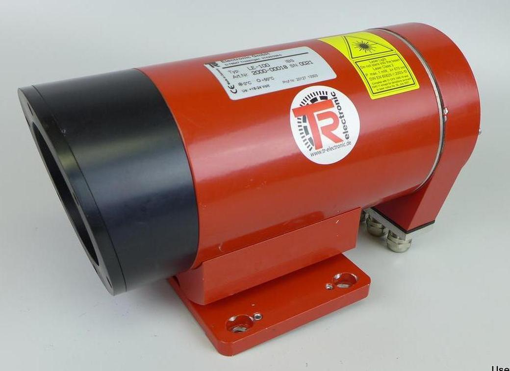 Pp laser entfernungs messgerät tr electronic le