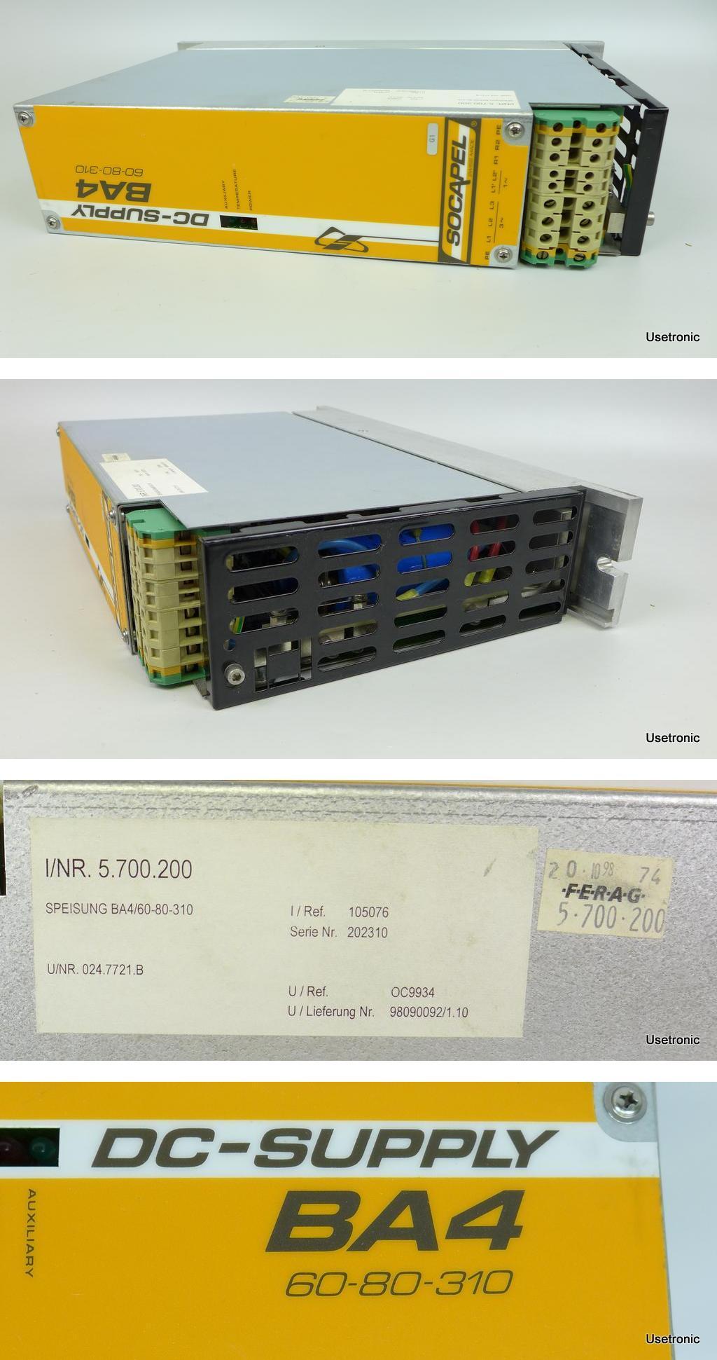 Socapel BA4 60-80-310