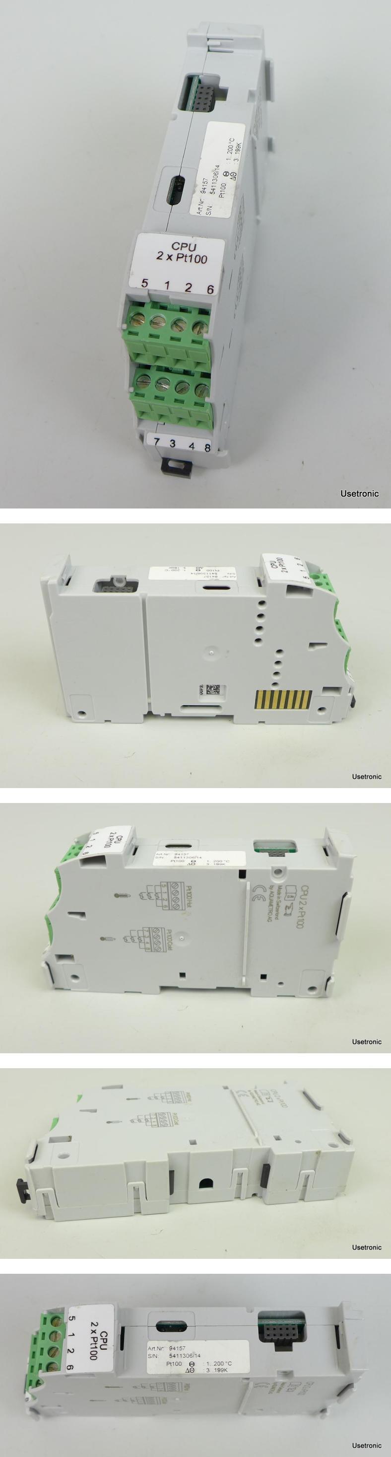 Aquametro CPU 2x PT100