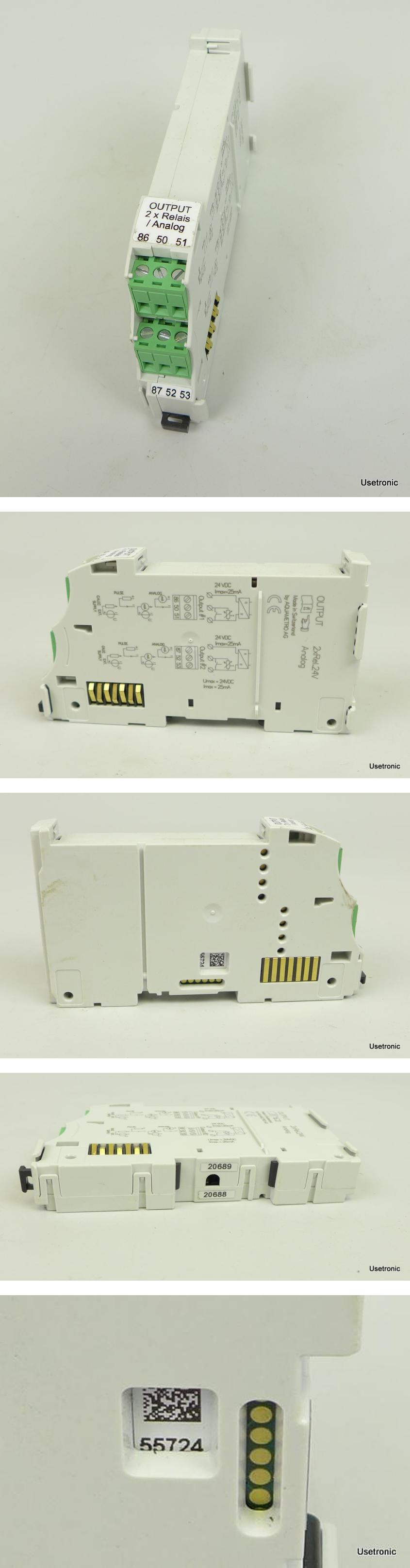 Aquametro Output 2x Relais Analog
