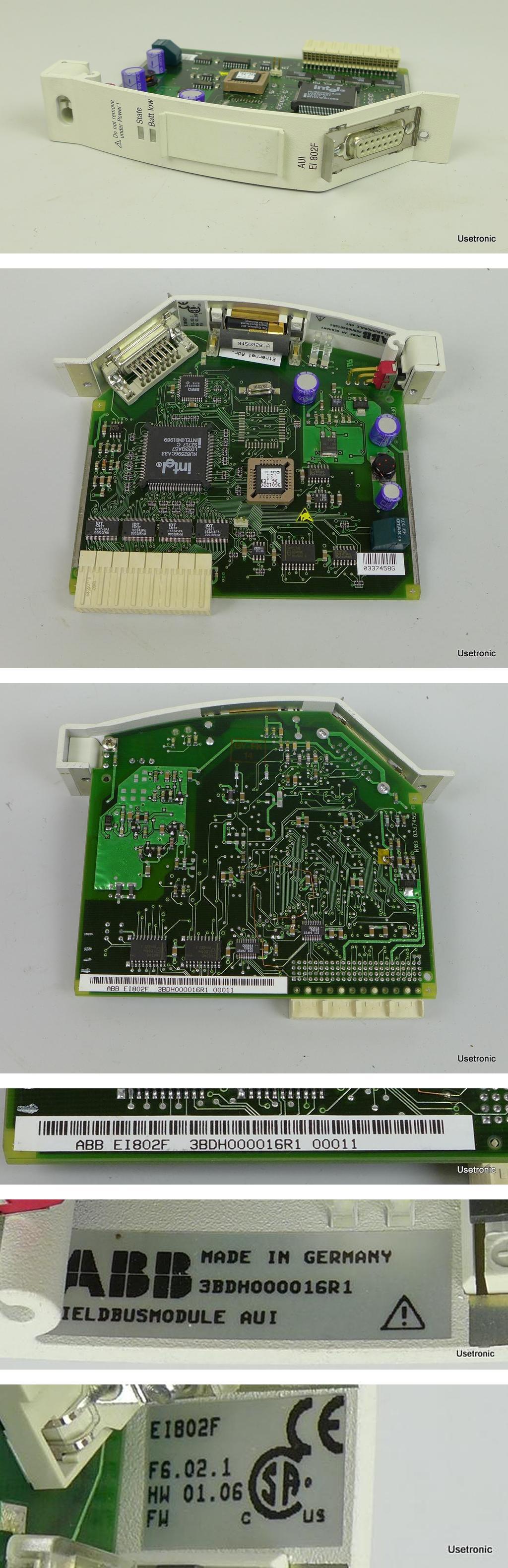 ABB AUI EI 802 F 3bdh000016r1