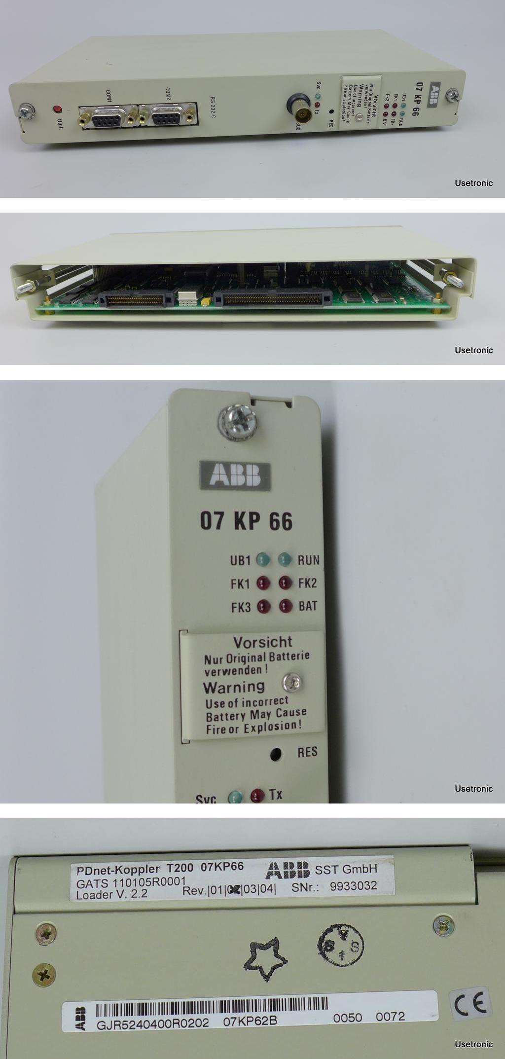 ABB 07KP62 07KP66