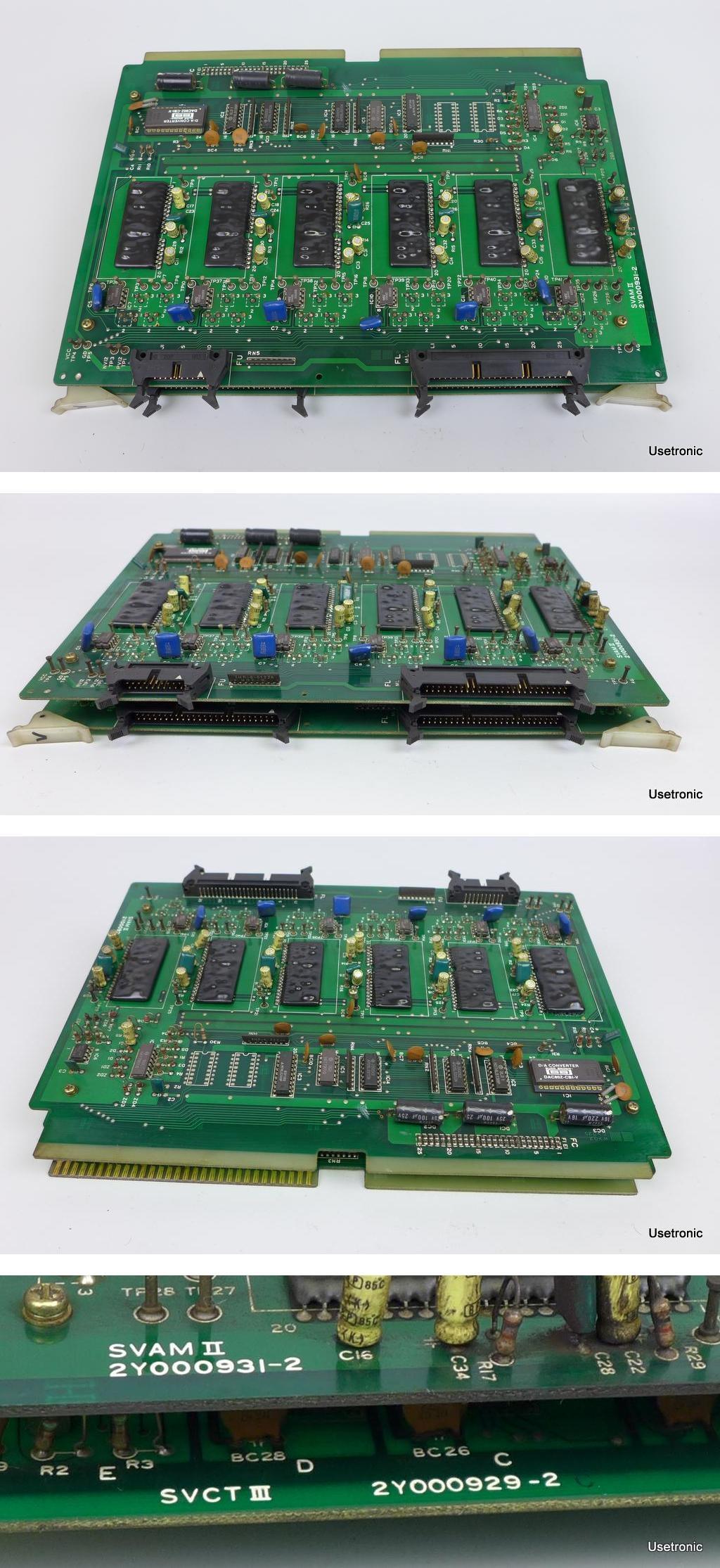 Hitachi SVAM II 2Y000931-2 SVCT III 2Y000929-2