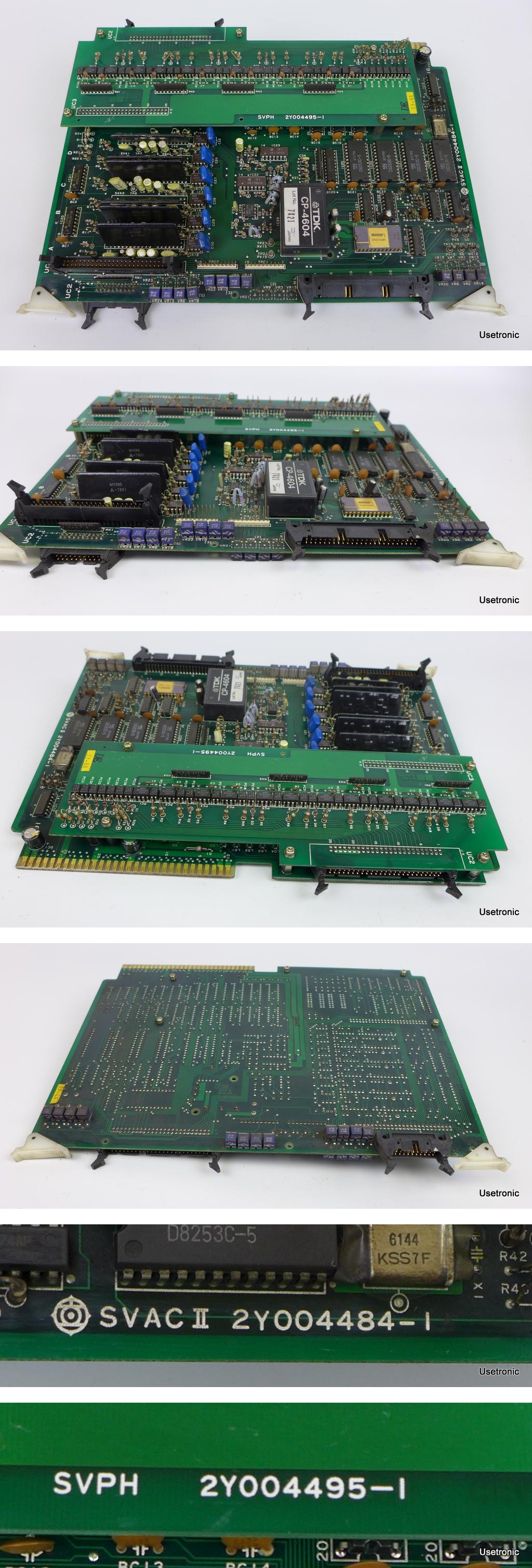 Hitachi SVAC II 2Y004484-1 SVPH 2Y004495-1