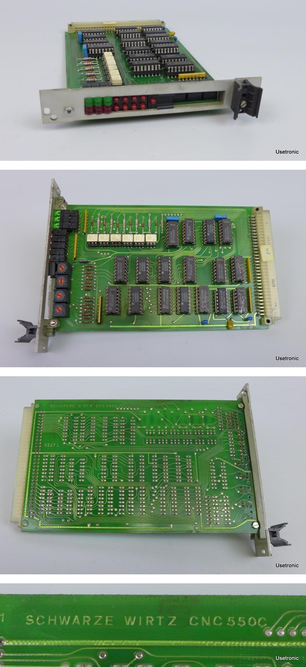 Schwarze Wirtz CNC 550C