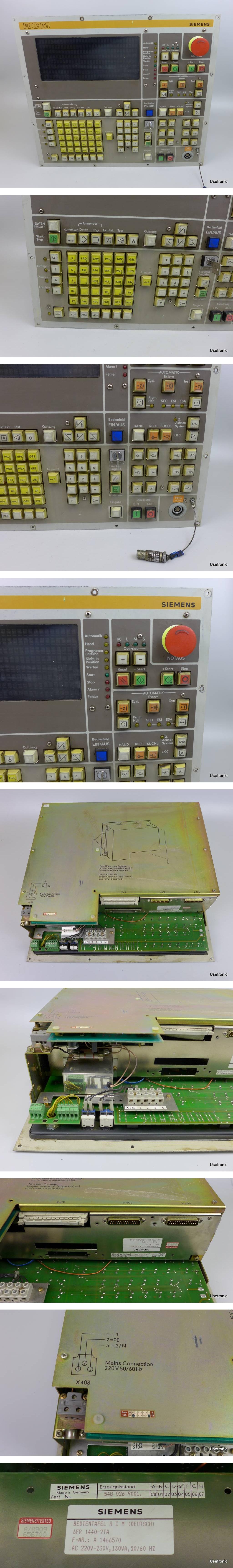 Siemens RCM 6FR1440-2TA