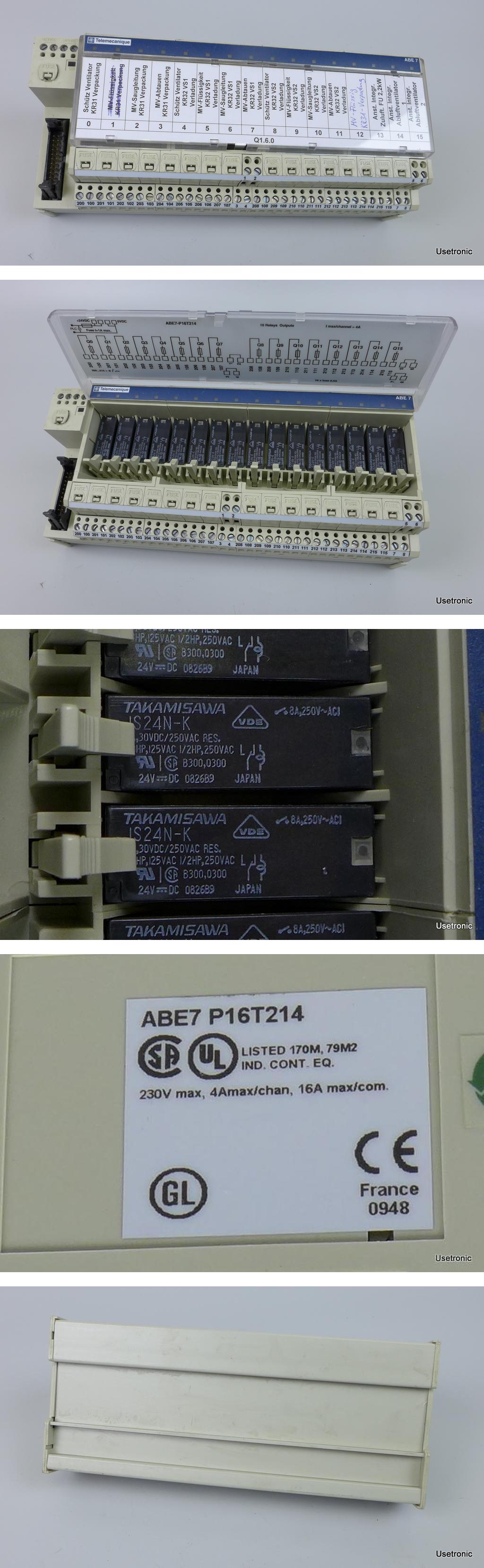 Telemecanique ABE7 P16T214