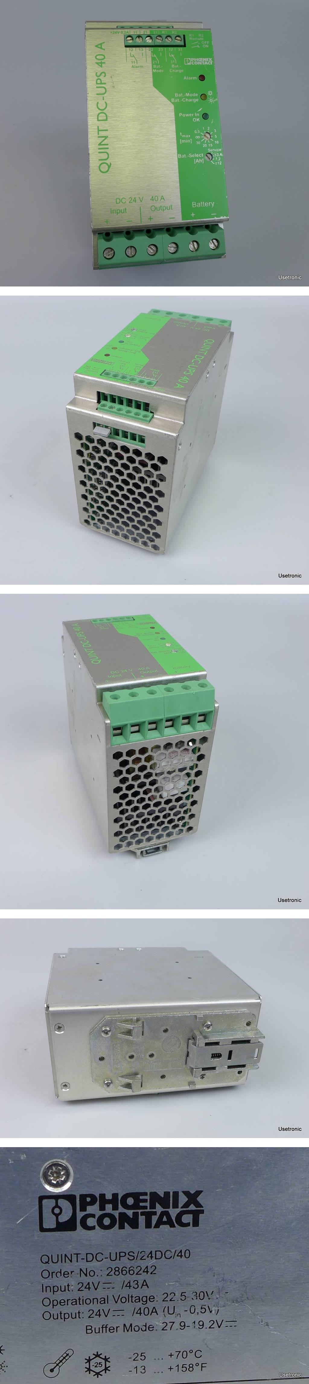 Phoenix Contact Quint-DC-UPS/24DC/40 2866242