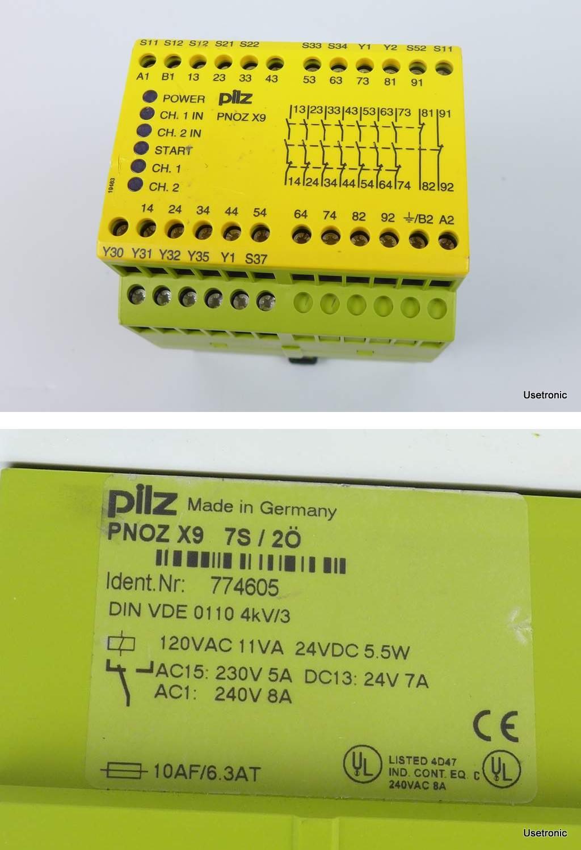 Pilz Pnoz X9 774605