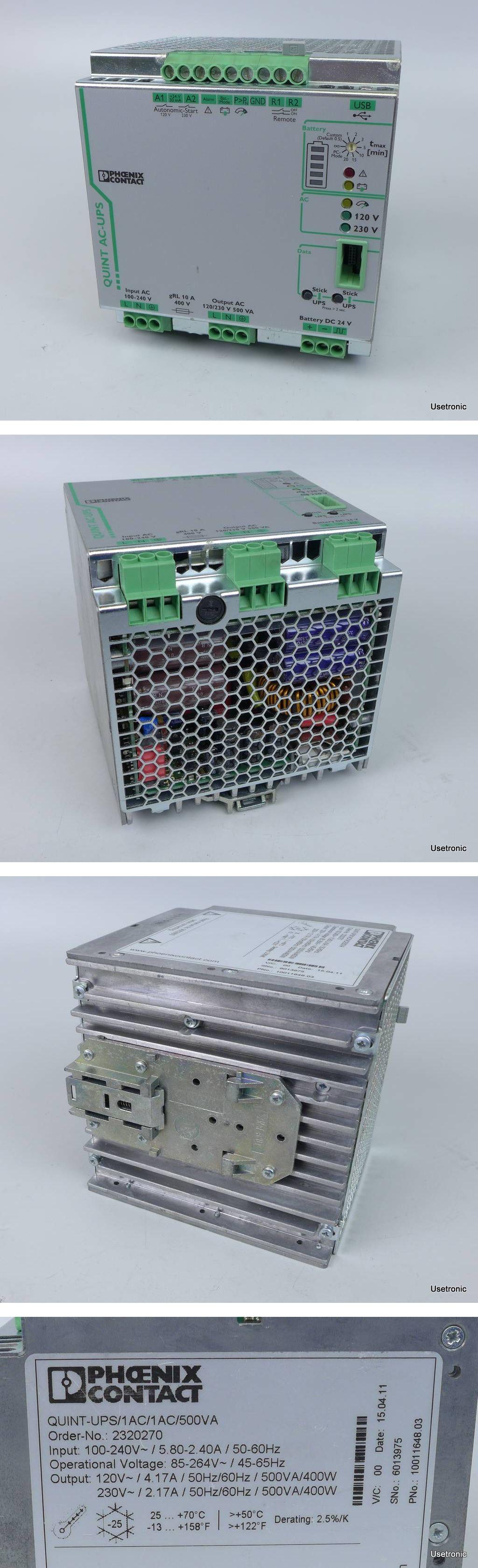 Phoenix Contact AC-UPS Quint-UPS/1AC/1AC/500VA 2320270