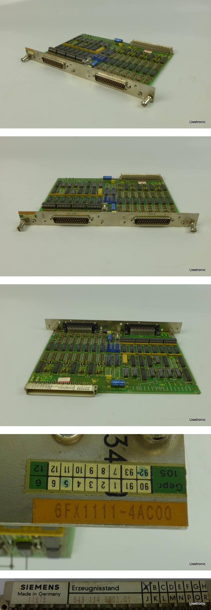 Siemens 6FX1111-4AC00