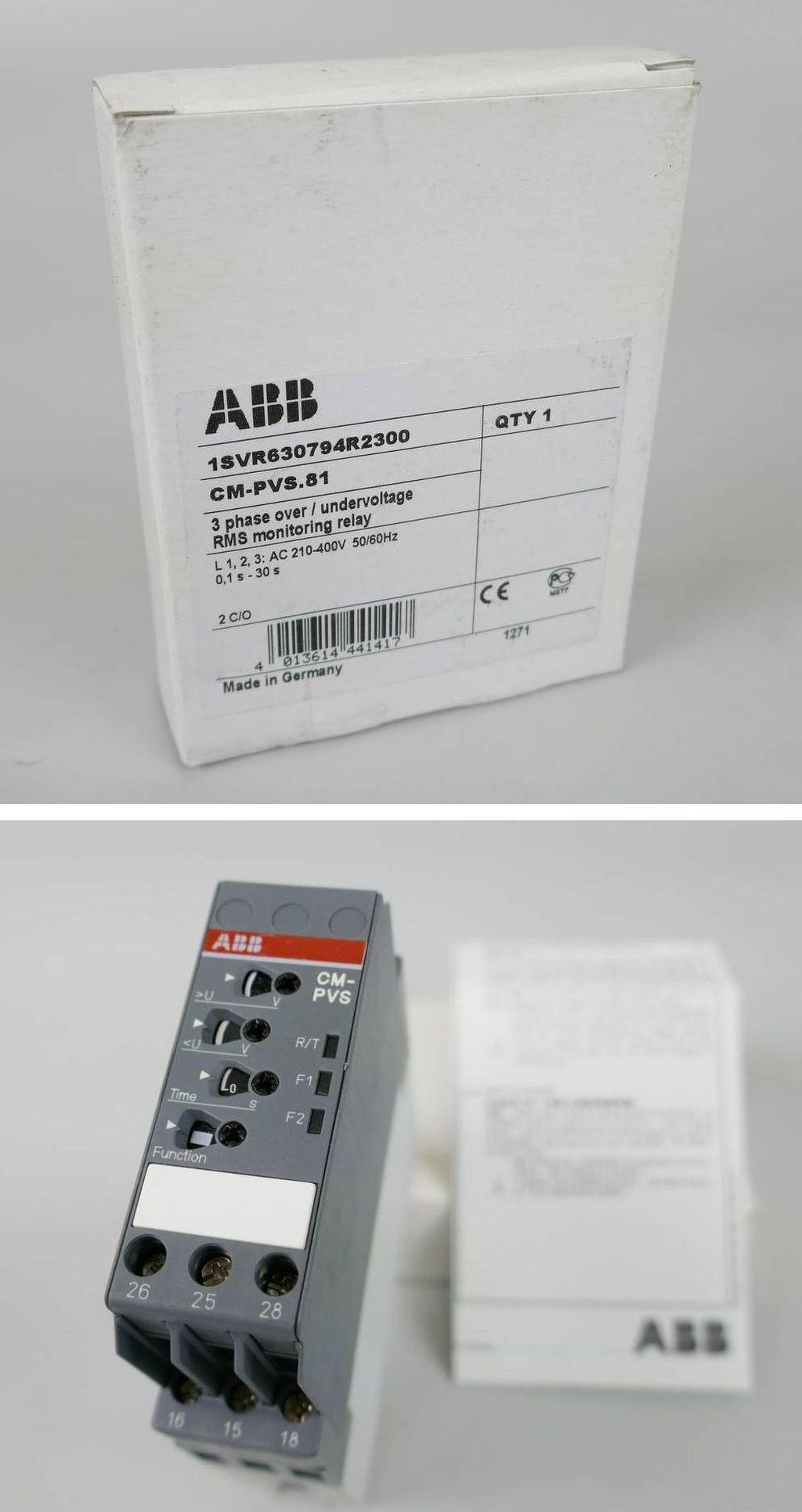PP3973 Netzüberwachungsrelais ABB CM-PVS.81 1SVR630794R2300