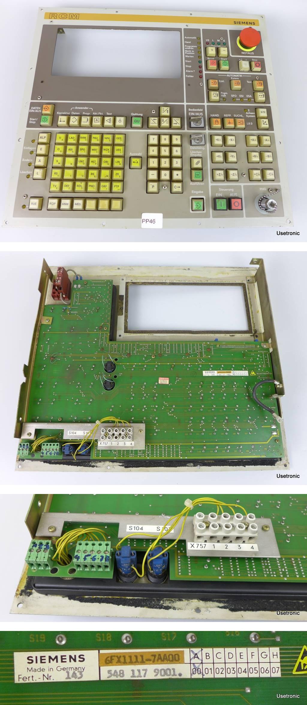Siemens 6FX1111-7AA00 A00 6FR1440-2TA