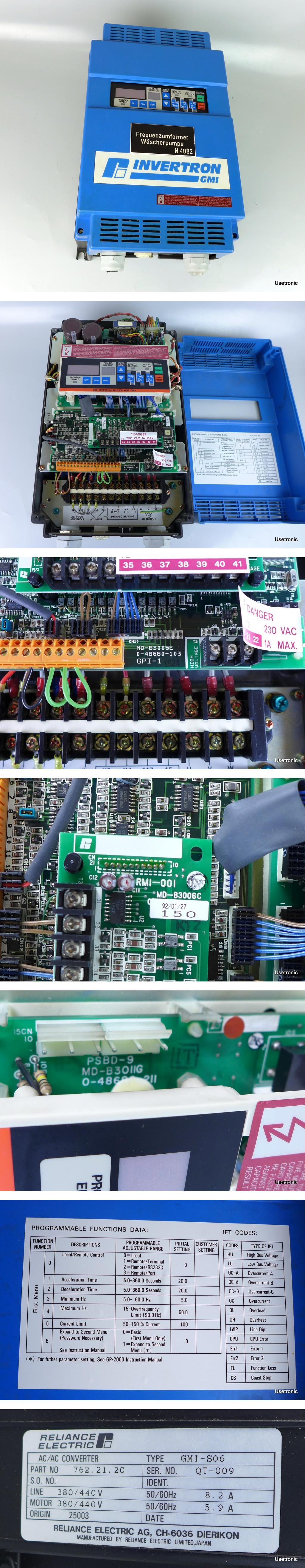 Reliance Electric GMI-S06