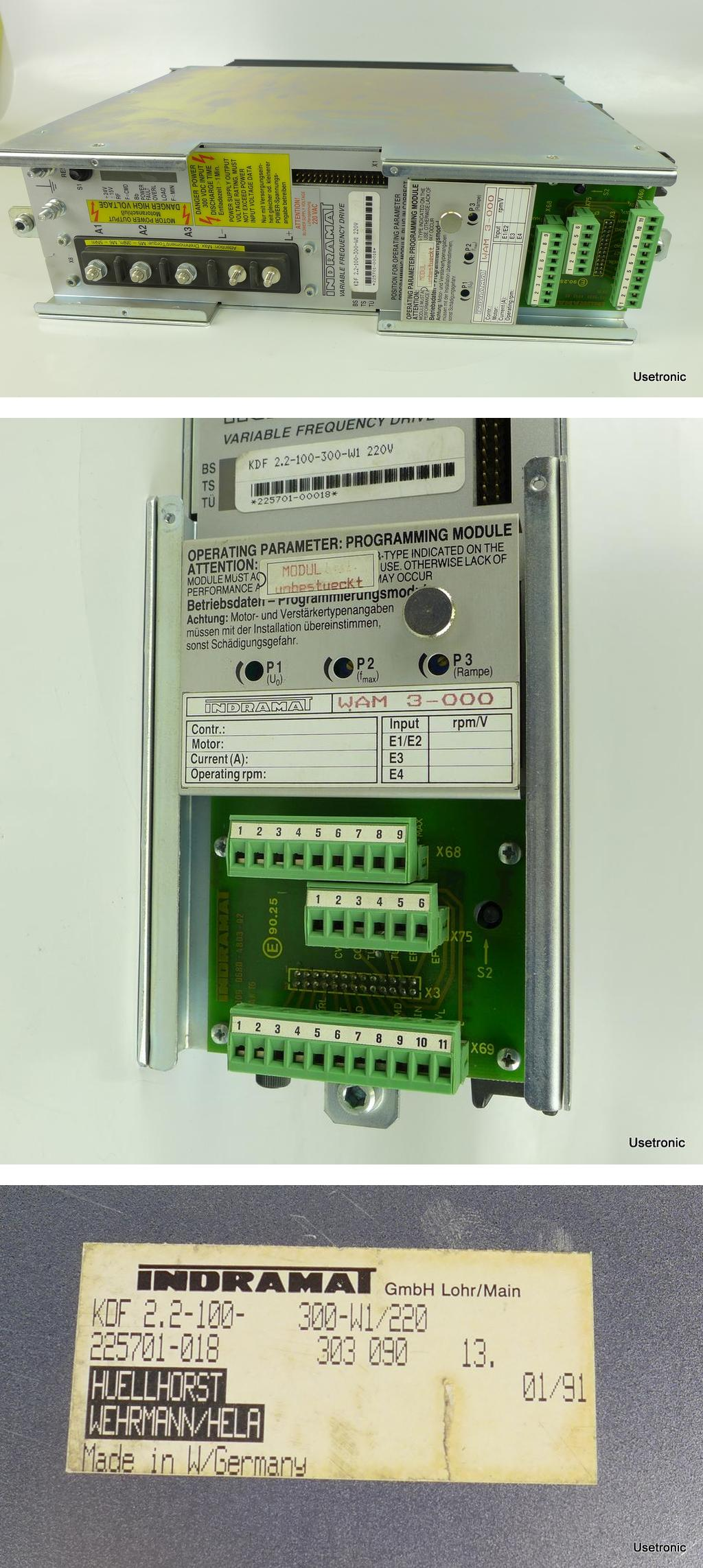 Indramat KDF2.2-100-300-W1