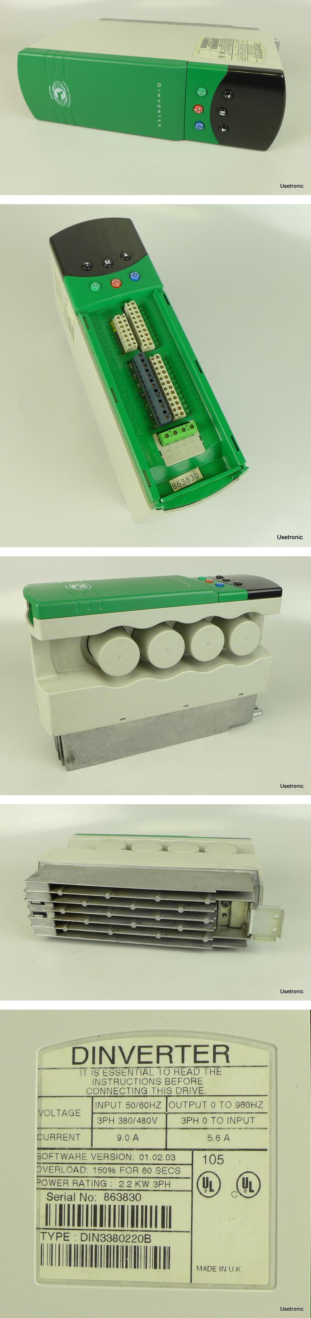 Control Techniques DIN3380220B