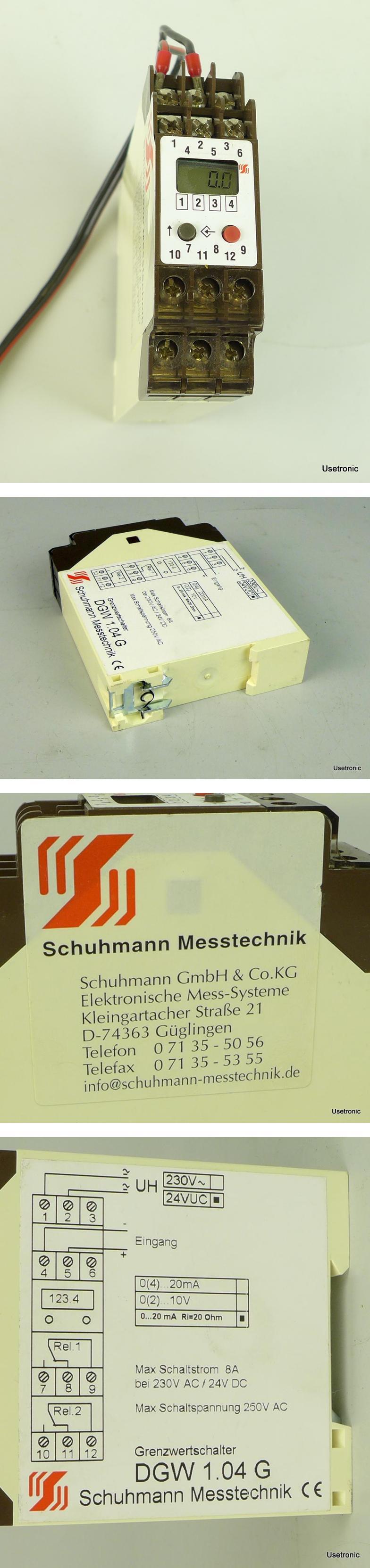 Schuhmann Messtechnik DGW