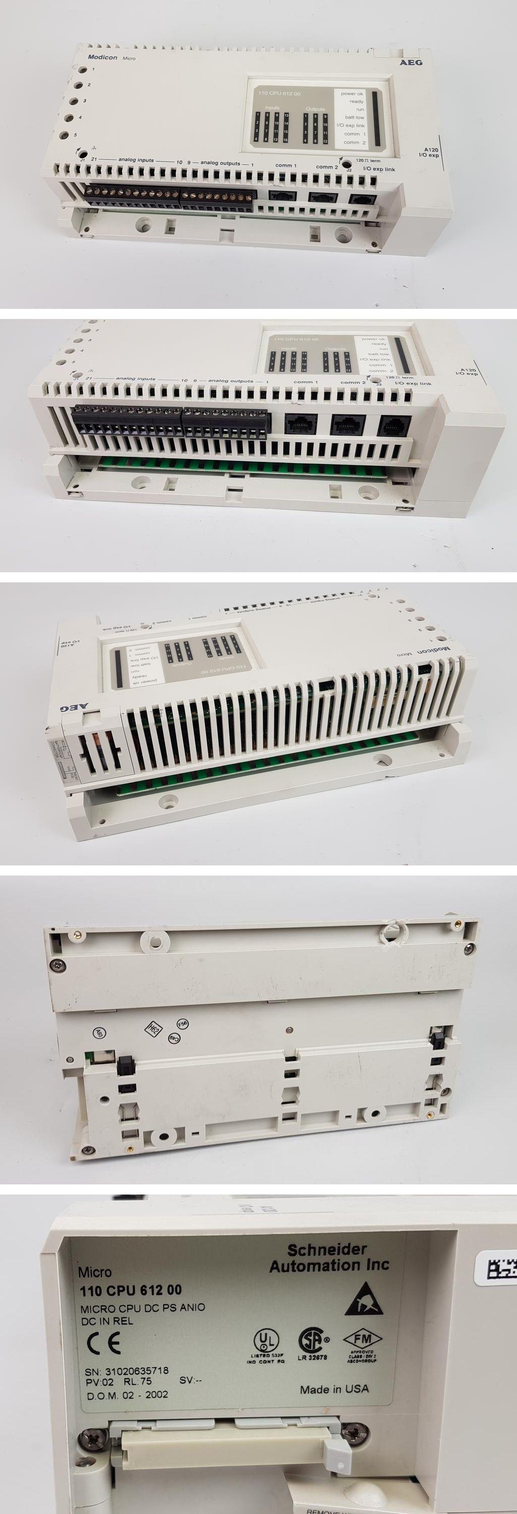 AEG Schneider 110CPU61200