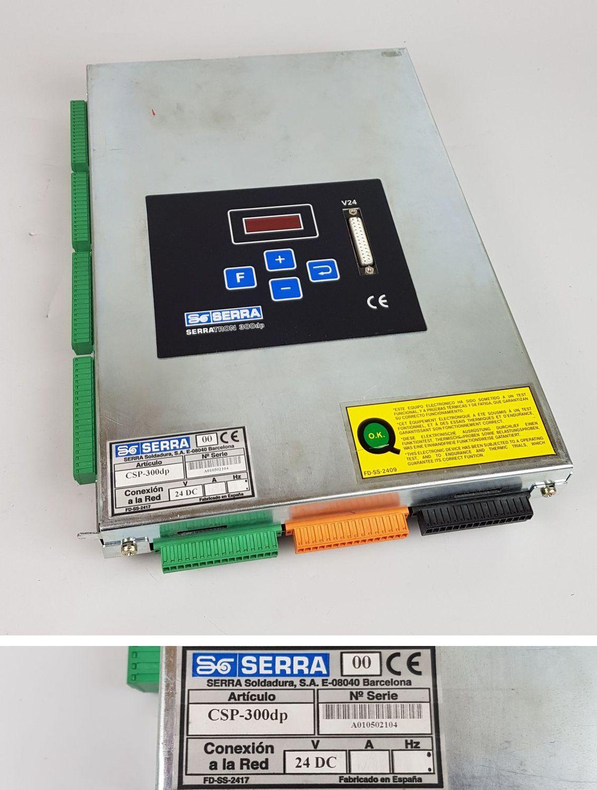 .pp8456 schweisssteuerung serra csp-300dp Profibus DP serratron 300dp