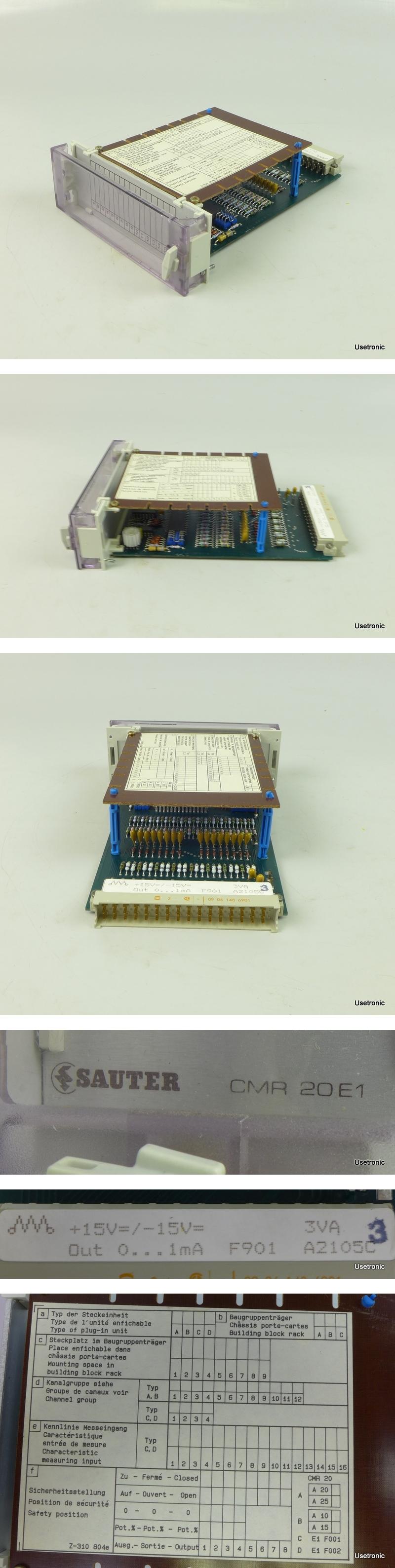 Sauter CMR 20E1