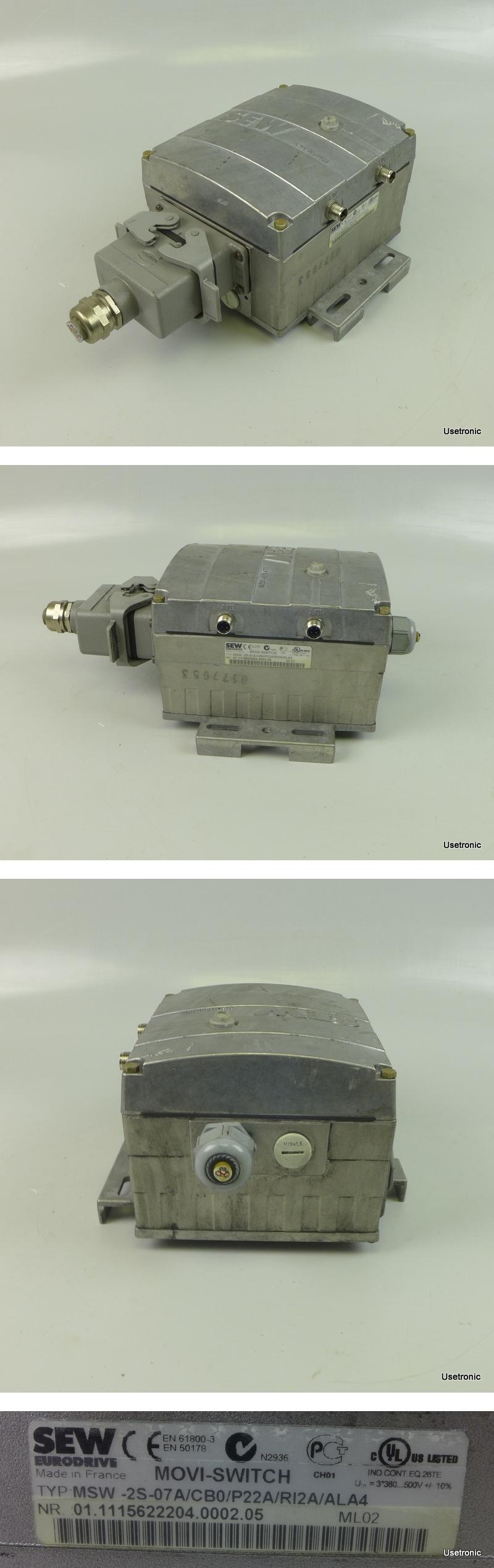 SEW MSW-2S-07A/CB0/P22A/RI2A/ALA4